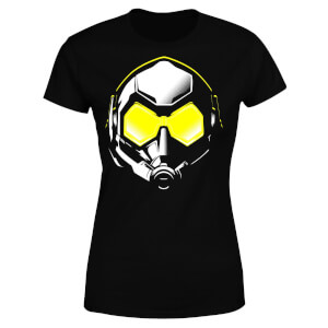 Ant-Man And The Wasp Hope Mask Damen T-Shirt - Schwarz