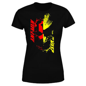 Ant-Man And The Wasp Split Face Damen T-Shirt - Schwarz