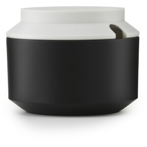 Normann Copenhagen Geo Sugar Bowl - Black/Frost
