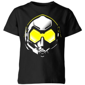Ant-Man And The Wasp Hope Mask Kids' T-Shirt - Black