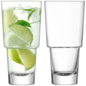 LSA Mixologist Cocktail Highball Glasses - 400ml - Set of 2