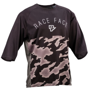 Race Face Ambush MTB 3/4 Jersey - Black