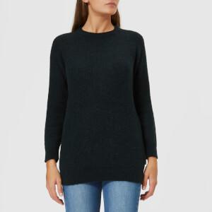 Barbour Heritage Women's Olivia Crew Neck Sweatshirt - Sage