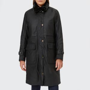Barbour Heritage Women's Barbour Floree Wax Jacket - Black