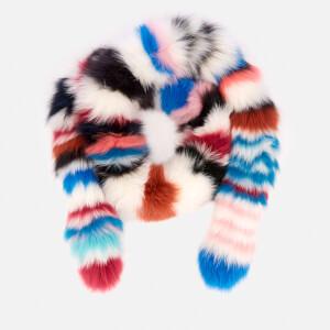 Charlotte Simone Women's Chunky Monkey Scarf - Multi Stripe