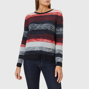 Barbour Women's Rhossili Knit Jumper - Navy