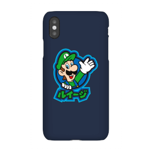 Funda Móvil Nintendo Super Mario Luigi Kanji para iPhone y Android