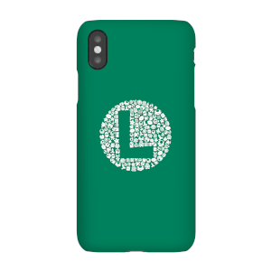 Cover Telefono Nintendo Super Mario Luigi Items Logo per iPhone e Android