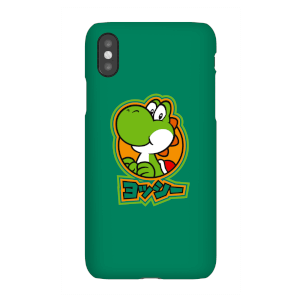 Funda Móvil Nintendo Super Mario Yoshi Kanji para iPhone y Android