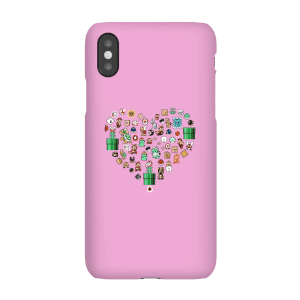 Coque Smartphone Pixel Sprites Heart - iPhone & Android