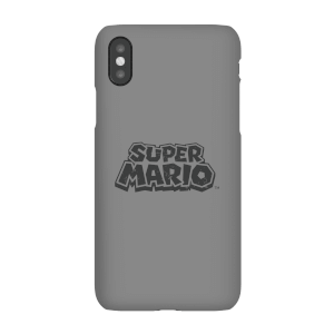 Funda móvil Nintendo Super Mario Logo para iPhone y Android