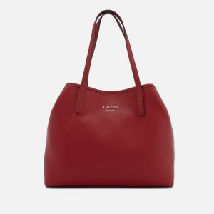 Guess Women's Vikky Plain Small Tote Bag - Lipstick