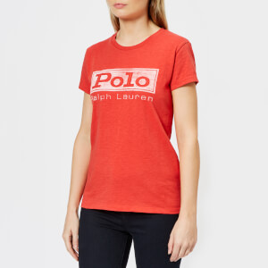 Polo Ralph Lauren Women's Polo Logo T-Shirt - Red