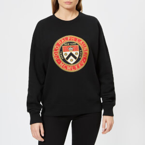 Polo Ralph Lauren Women's Crest Logo Sweatshirt - Black