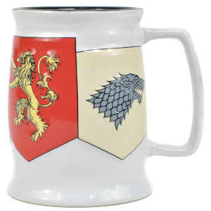 Game Of Thrones Small Tankard Mug (Banner Sigils)