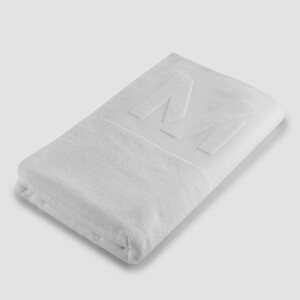 Myprotein Large Towel - White