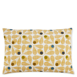 Orla Kiely Acorn Cup Pillowcase Pair - Olive