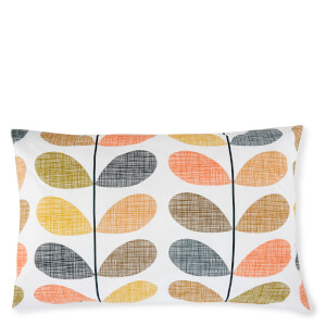 Orla Kiely Scribble Stem Pillowcase Pair - Multi
