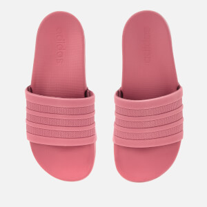 adidas Woman's Adilette Comfort Sandals - Trace Maroon