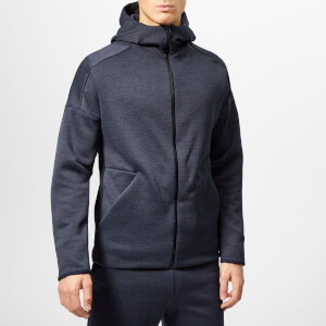 adidas Men's Z.N.E. Free Zip Hoody - Heather/Legend Ink