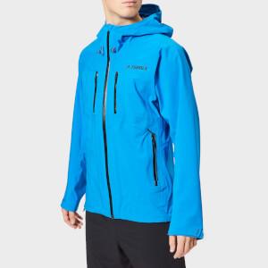 adidas Men's Terrex Parley 3L Jacket - Shock Blue