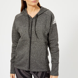adidas Women's I.D Stadium Hoody - Stadium Heather/Black