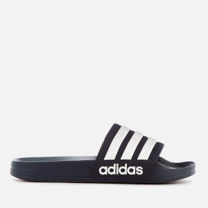adidas Men's Adilette Shower Slide Sandals - Collegiate Navy