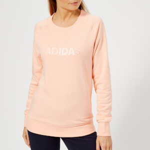 adidas Women's All Cap Sweatshirt - Haze Coral