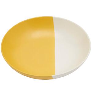 Joules Stoneware Pasta Bowl - Gold