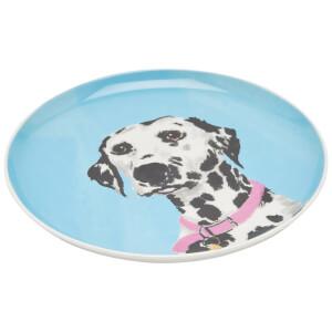 Joules Side Plate - Dalmatian
