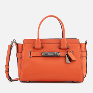 Coach Women's Swagger 27 Tote Bag - Mandarin