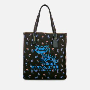 Coach Women's X Keith Haring Tote Bag - Black