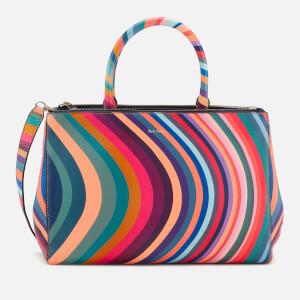 57741f9989e4 Paul Smith Women's Double Zip Tote Bag - Multi