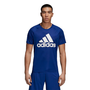 adidas Men's D2M Logo T-Shirt