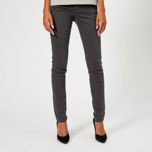 Emporio Armani Women's J28 Mid Rise Jeans - Grey