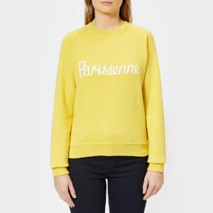 Maison Kitsuné Women's Parisienne Sweatshirt - Mustard