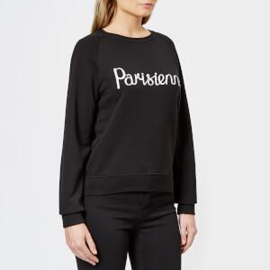 Maison Kitsuné Women's Par Perm Parisienne Sweatshirt - Black