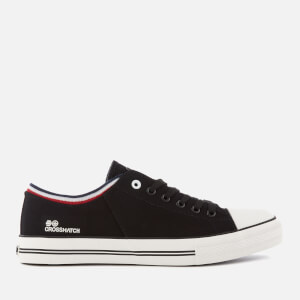 Crosshatch Men's Rotherham Plimsolls - Black