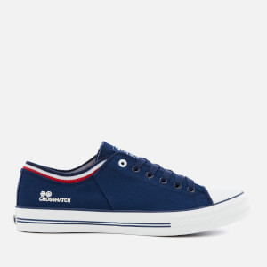 Crosshatch Men's Rotherham Plimsolls - Estate Blue