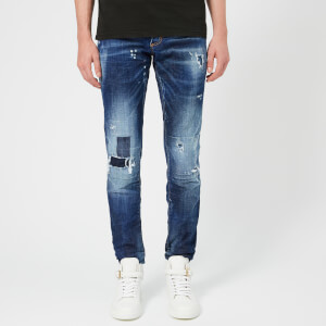 Dsquared2 Men's Toppa Medium Wash Slim Jeans - Blue