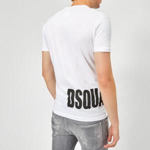 Dsquared2 Men's Hem Logo T-Shirt - White: Image 2