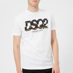 Dsquared2 Men's Long Fit Logo T-Shirt - White