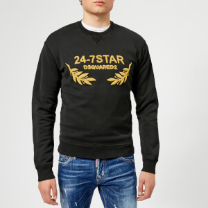 Dsquared2 Men's Dean Fit Logo Sweatshirt - Black
