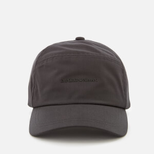 Emporio Armani Men's Logo Baseball Cap - Grey