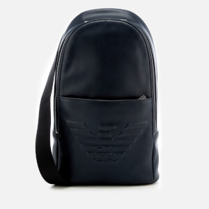 Emporio Armani Men's Backpack - Blu Navy