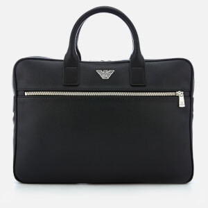 669e48466785 Emporio Armani Men s Briefcase - Black