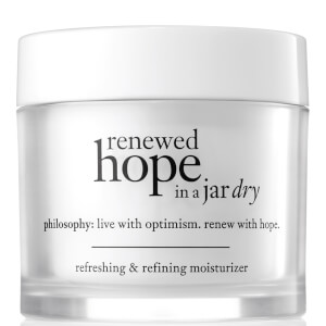 Soin Hydratant Peaux Sèches Renewed Hope in a Jar philosophy 60 ml