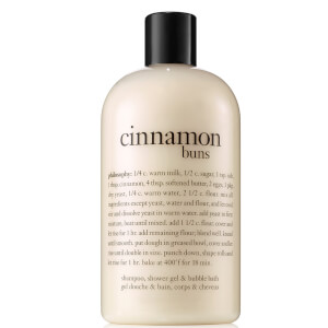 Gel de Duche Cinnamon Buns da philosophy 480 ml
