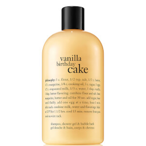 Gel de Duche Vanilla Cake da philosophy 480 ml