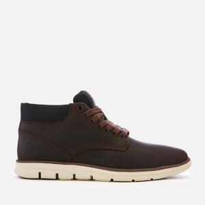 Timberland Men's Bradstreet Leather Chukka Boots - Potting Soil Saddleback